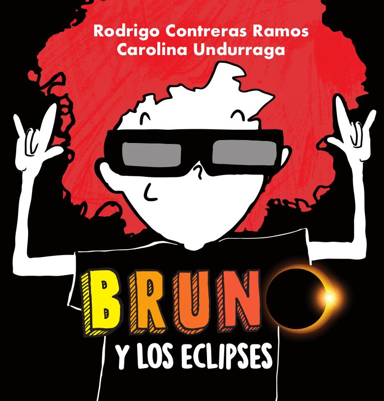 """Portada del libro """"Bruno y Los Eclipses"""""""