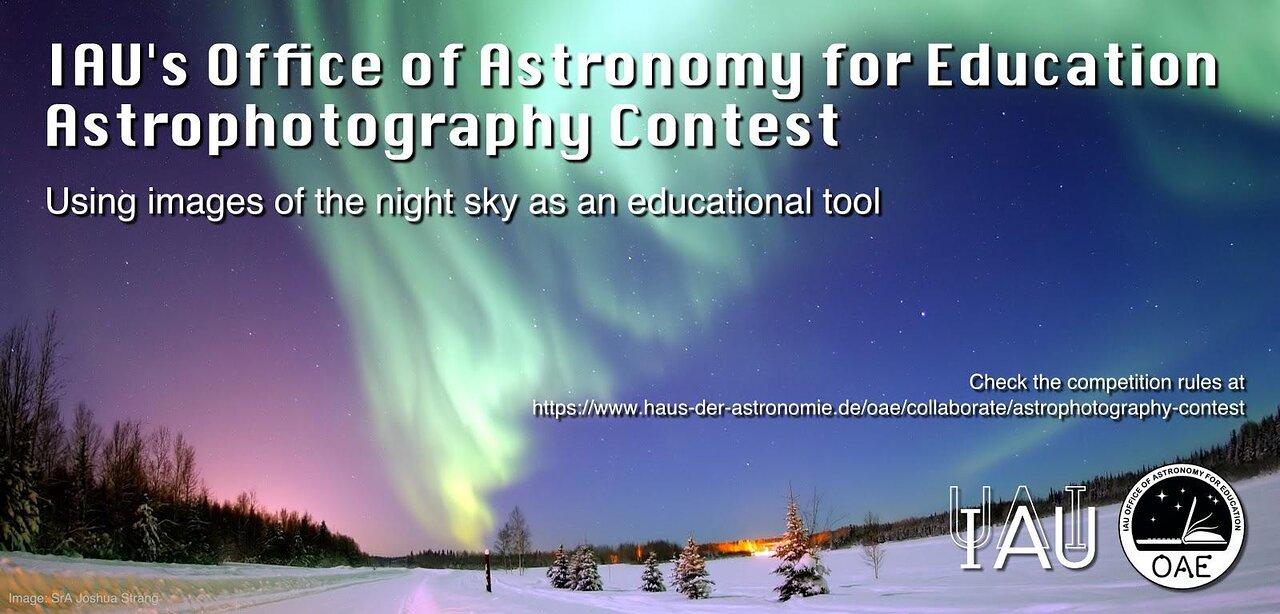 Afiche Concurso de Astrofotografía